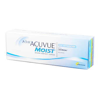Фото Контактные линзы 1-Day Acuvue Moist for Astigmatism (30 шт.) 1